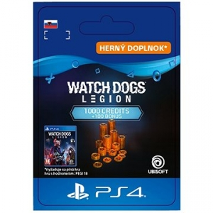 Watch Dogs Legion 1,100 WD Credits – PS4 SK Digital (SCEE-XX-S0051592)